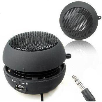 Mini přenosný reproduktor 3,5mm jack, černý