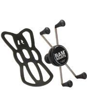 """RAM Mounts X-Grip univerzální držák na mob telefon větší než 5"""" s 1"""" kulovým čepem, RAM-HOL-UN10BU"""