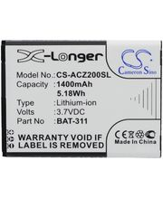 Baterie náhradní pro Acer Liquid Z200, 1400mAh Li-ion