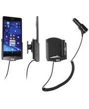 Brodit držák do auta na Microsoft Lumia 950 XL bez pouzdra, s nabíjením z cig. zapalovače